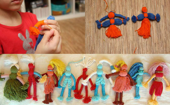 Кукла поделка своими руками 38